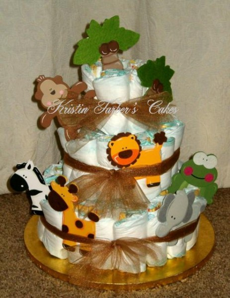Amazing Jungle Animal Diaper Cake 463 x 600 · 74 kB · jpeg